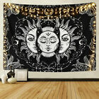 Kyпить US Psychedlic Mandala Sun Face Tapestry Wall Hanging Hippie Home Decor Tapestry на еВаy.соm