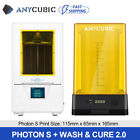 UK ANYCUBIC LCD 3D Printer Photon / Photon S / Zero Faster Higher High Precision
