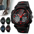 Men's Date Quartz Military Digital Tactical Fashion Shock Sports LED Wrist Watch image
