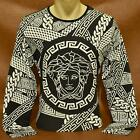 Brand New With Tags VERSACE Long Sleeve T-SHIRT for Men Size M- L- XL