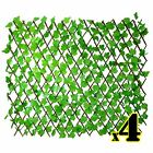 Artificial Ivy Trellis Privacy Fencing Screen - Extends to 2m x 1m