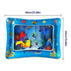 Water Playmat Inflatable Play Mat Tummy Time Infants Baby Toddlers Activity Pad