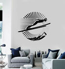 Wall Sticker Vinyl Decal Competition Ski Jumping Mountains Sport Life (n1311)