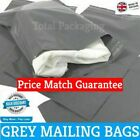 Grey Mailing Bags Poly Mailers 10 x 14 (255mm x 355mm) Post Mail Postal Envelope