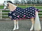Hy Lightweight Waterproof Unicorn Turnout Rug 600D Rip Stop No Fill 0g 4'0-7'0""