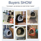 Ultra Automatic Self Cleaning Hooded Cat Litter Box Includes Disposable Trays