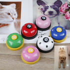 Pet training bell dog toys Puppy Pet Call Dog paw print ringer pet supplie~JP