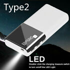 2000000mAh Power Bank Portable External Battery Charger Backup For Mobile Phone