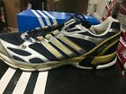 Adidas SNOVA Sequence Promo Men's Size 19 NOTRE DAME Sneakers Blue/Gold