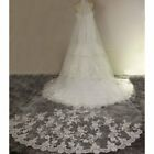 Kyпить 10ft Ivory White Cathedral Length Lace Edge Bride Wedding Bridal Long Veil+Comb на еВаy.соm