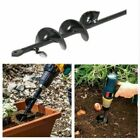 4/5/8cm Earth Auger Drill Bit Fence Borer For Garden Post Hole Digger Tool %#