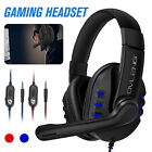 Gaming Headset Stereo Surround 3.5mm Jack Mic Headphones For PS5 Xbox PC Laptop