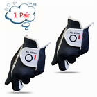 Golf Gloves Pair Right Hand Left Mens Rain Grip Winter Weathersof Player Set UK