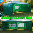 Gazebo Marquee Outdoor Camping Party Wedding Tent 3x6m, W/4 Removable Sidewalls