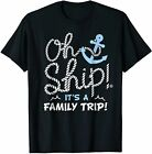 Oh Ship It's a Family Trip - Oh Ship Cruise Shirts Funny Vintage Gift For Men