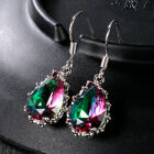 Gorgeous 925 Silver Jewelry Drop Earrings for Women Mystic Topaz A Pair/set image