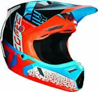 Fox Racing 2019 Youth Divizion Red/Aqua Helmet