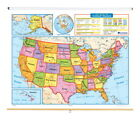 Nystrom Readiness United States Roller Map, 65 x 53 inches