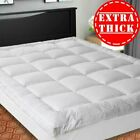 Extra Thick Mattress Topper Cooling Mattress Pad Cover 400TC Cotton Pillow Top image