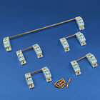 GKS PCB mounted Screw-in Gold Plated PCB Stabilizers Satellite Axis 7u 6.25u 2u