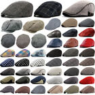 Mens Women Newsboy Gatsby Cap Ivy Hat Cabbie Golf Driving Flat Beret Warmer Hats