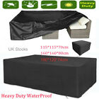 Garden Patio Furniture Set Cover Waterproof Covers Cube Rattan Table Cover 3size