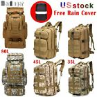 8L/35L/45L/80L Military Trekking Tactical Backpacks Outdoor Camping Hiking Bags