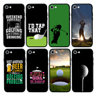 GOLF CASE Glass Back Bumper Cover for Apple iPhone 6 6s 7 8 PLUS X XS MAX XR