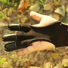 Traditional Shooting Gloves Three Finger Protection Archery Elastic Fiber New $14.94 USD on eBay