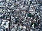 A4 Panoramic View East Mayfair c1999 Oxford Brook Davies New Bond S Molton Sts