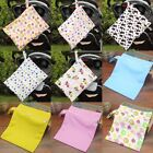 Infant Waterproof Zip Wet Dry Bag Baby Cloth Diaper Nappy Pouch Reusable ffse
