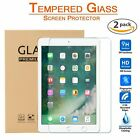 2-Pack Tempered Glass Screen Protector for iPad Pro 9.7 5th 6th Generation Air