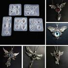 Owl Dragonfly Eagle Silicone Resin Mold Diy Jewelry Pendant Making Mould Craft