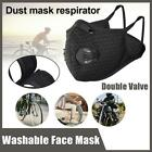 Cycling Mask Breathable Double-valve Activated Carbon Protection Guard Mask Lot