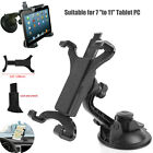 """For iPad 7"""" 9.7"""" 10.5"""" 11"""" Tablet Car Dashboard Windshield Mount Holder Stand"""