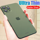 Ultra-thin Matte Clear Hard Pc Slim Cover Case For Iphone 11 Pro Max Xr 8 Plus 7