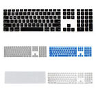 Silicone Thin Keyboard Skin Cover Protector With Numeric Keypad For Apple V4A5