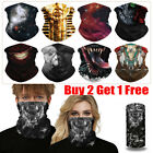 Kyпить UV Protection Face Shield Tube Mask Scarf Bandana Mouth Cover smoke Unisex на еВаy.соm