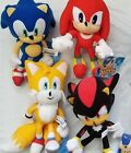 Sonic Stuffed Toy Figure Plush Set, Sonic Shadow Tails Knuckles 8 - 12