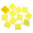 Wooden Montessori Maths Material 1-10cm Counting Sticks Kids Educational Toy