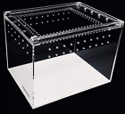 Herpcult Clear High-Grade Acrylic Pet Reptile Terrarium Tank Enclosure YKL-B NEW