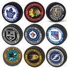 NHL Official Team Logo Souvenir Hockey Pucks - 17 Teams - FREE SHIPPING $9.99 USD on eBay