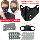 Reusable Cycling Face Mask Outdoor Anti-fog Protective Air Purifying Mouth Cover