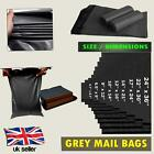 Grey Mail Bags Self Seal Strong Poly Postal Heavy Duty Post Mail Bags Cheap UK