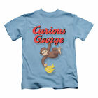 Curious George Boys' Hangin Out Childrens T-shirt Blue