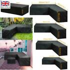 Waterproof Garden L Shape Rattan Corner Furniture Cover Outdoor Sofa Protectoruk