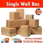 BROWN SHIPPING CARDBOARD 10 20 25 50 BOXES POSTAL MAILING PACKET SMALL PARCEL