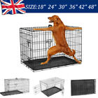 Dog Cage Puppy Crates Small Medium Large Extra Pet Carrier Training Cages Metal
