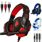 Gaming Headset Mic Stereo Surround Headphone For PS4/Xbox One/PC/Nintendo Switch