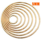 5mm Gold Dream Catcher Dreamcatcher Ring Macrame Wreath Craft Hoop Bag Loop